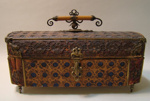 Chocolate Box, Lopez and Co    New Orleans United States of America, c1860, C1006