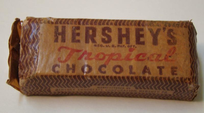 Tropical' Chocolate bar from World War 2. Made by ...