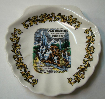 Bon Bon dish depicting Van Houten made by Nelson P...