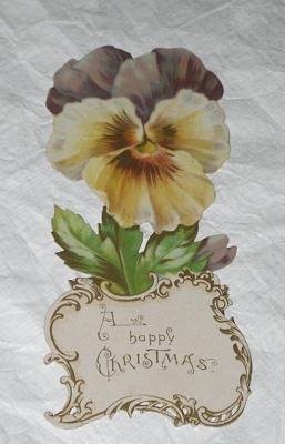 Christmas card; Raphael Tuck & Sons Ltd (estab. 1866); c. 1895; XAH.GH.868