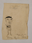 Drawing, untitled; Thora Daisy Kerr Taylor (1875-1885); 7 August 1885; XAH.GH.5.4