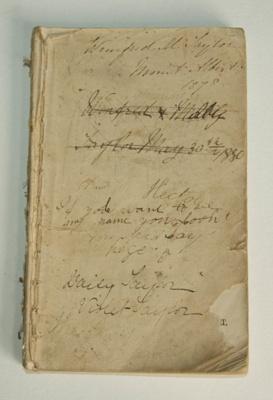 Book, 'Dr Ahn's First French Course'; Dr Ahn, J. J. B. Poclet; 1877; XAH.C.1065