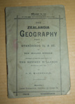 Book, 'The Zealandia Geography'; James Horsburgh; XAH.C.550