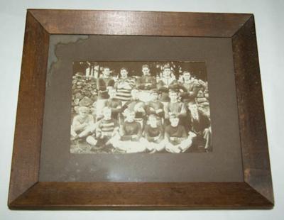 Photograph [Mount Albert Football Club rugby team]; Early 1920s; XAH.R.1