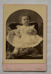 Cabinet photograph [Muriel Kerr Taylor?]; 19th century; XAH.GH.1.20