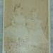 Carte de viste, untitled [Thora Daisy and Violet Kerr Taylor]; G Redfern (estab. 19th century); Pre 1885; XAH.GH.3.105