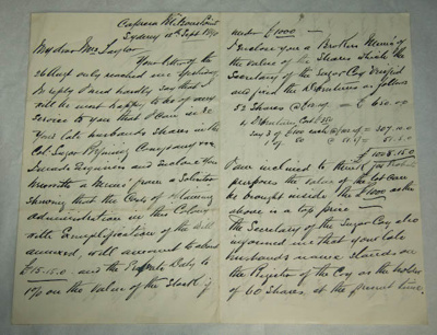 Letter; 12 Sep 1890; XAH.A.85