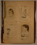 Photograph album page; Late 19th Century; XAH.GH.5.1