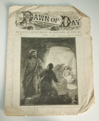 Magazine, 'The Dawn of Day, Supplement to the Church Gazette. Vol. II, April 1879'; Society for Promoting Christian Knowledge (estab. 1698); 1 April 1879; XAH.C.1243.2