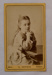Carte de visite, Untitled [Mildred Kerr Taylor]; G Redfern (estab. 19th century); 19th century; XAH.GH.1.26