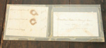 Human hair samples; Aug 1862; XHC.189.2