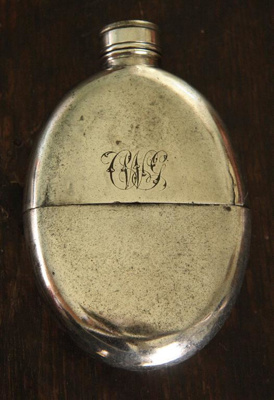 Hip flask; 19th Century; XHC.178