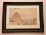 Watercolour, 'Paritutu Beach'; James Crowe Richmond (1822-1898); 1866; XHC.45