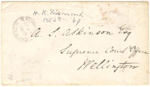 Envelope; 08 Oct 1869; XHC.187