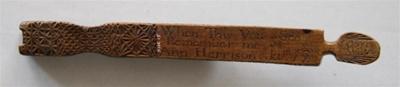 Bookmark; Ann Harrison; 12 Jan 1832; XHC.15