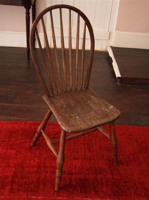 Chair; William Sanders; 1860s; XHC.6.1