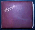 Autograph book; Circa 1911-circa 1913; XHC.67