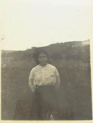 Photograph [Kitty Flood]; c. 1905-1915; XCH.1575