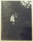 Photograph [Margaret Flood and baby]; c. 1910; XCH.1573