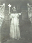 Photograph [Young girl dressed as an angel]; Late 19th century; XCH.1790