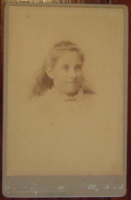 Cabinet photograph; F. W. Edwards; XCH.1186