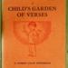 Book, 'A Child's Garden of Verses'; Robert Louis Stevenson (1850-1894); XCH.1649
