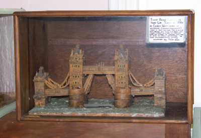 Model [Tower Bridge, London]; Charles White; XTS.2134