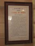 Document, 'Thames School of Mines Rules and Regulations'; Albert Bruce; XTS.3399