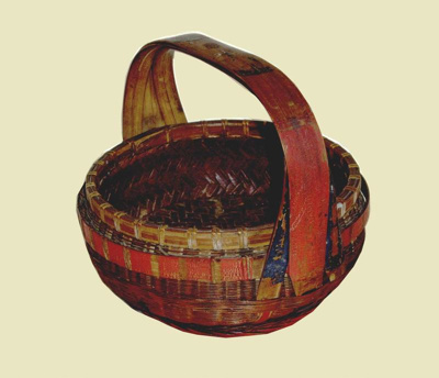 Cane Chinese basket