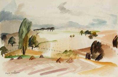 Near Montfort L'Amaury, MacDiarmid, Douglas, 1960, 2003.9.1
