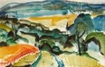 French Landscape, MacDiarmid, Douglas, 1963, 2003.9.2