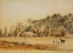Collins Homestead, Te ore Ore, Barraud, Charles Decimus, 1863, 1993.1.2