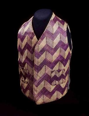 Waistcoat, Te Ore Ore weavers, c. 1880s, 2003.5.1