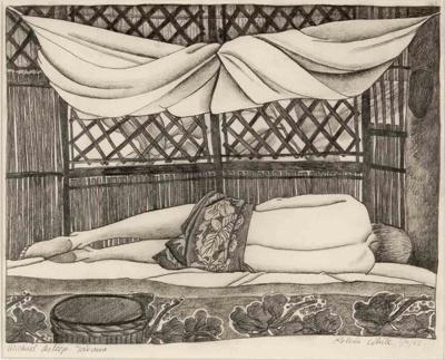 Michael Asleep, Tarawa, White, Robin, 1983.3.1