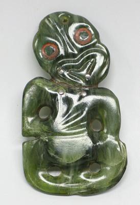 Pendant, Hei Tiki, unknown, 2004.4903.80