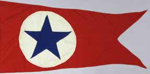 Flag, House, Blue Star Line; 2009.5277.4