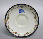 Saucer, USS Co; Foley Bone China; 2000.4537.74