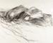 Sketch, Charcoal, 'Mataura River Rocks II'; Cooke, Barrie; 1999; ESC.00.002