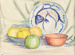Painting, 'Still Life'; Whitty, Norman; 1940; ESC.85.002