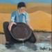 Painting, 'Prospecting 2'; Moffitt, Gilbert Trevor; 1980; ESC.15.021