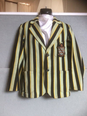 Old Boys Blazer from early 1900s - (from A L James...