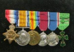 Medals of Rear Admiral C S Thomson
