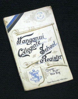 WCS Old Boys Register First Edition 1854 - 1896