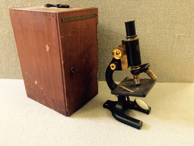 Vintage Science Equipment - Microscope from the Sc...