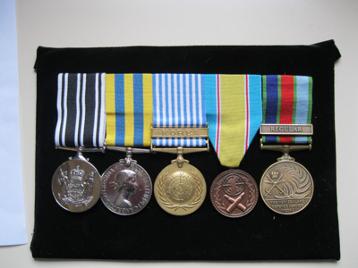 Korean War medals of WCS Old Boy Mr Bill Williams ...