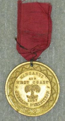 Medal; 1887