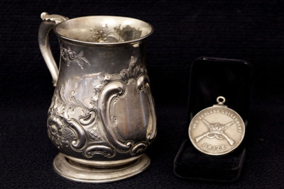 The Tankard is the first prize trophy for the 1862...