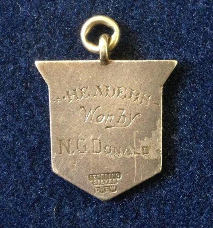 N G Donald 'Headers' medal; 1899