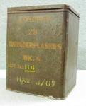 Ammunition Box - Thunder flash Tin