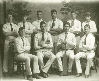 1887 WCS 1st XI Cricket Team